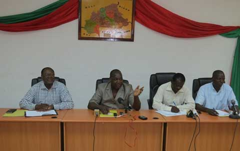 «Le rassemblement populaire aura bel et bien lieu le 31 mai 2014», dixit Zéphirin Diabré