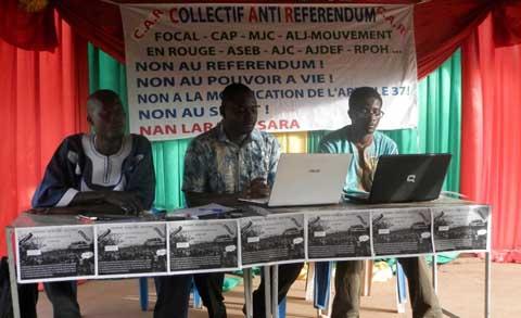 Luttes Anti-referendum: Cocorico et le CAR sont dans l'arène