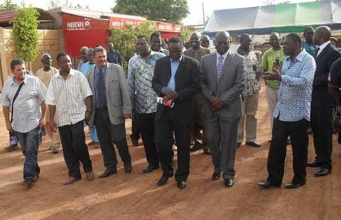 Voirie à l'arrondissement n°2 de Ouaga: Des tronçons  re-profilés