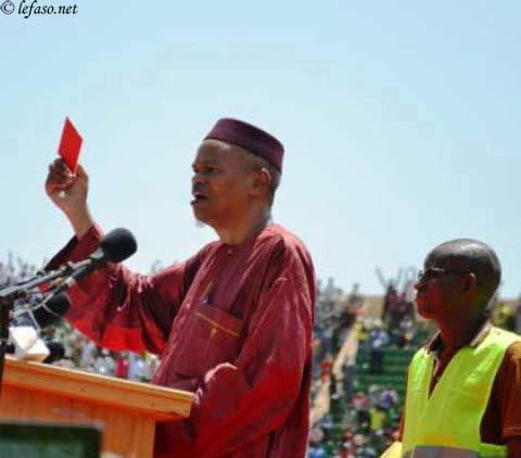 Lutte contre le référendum: Le ''carton rouge'' de l'opposition à Blaise Compaoré