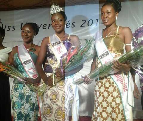 Miss Universités 2014: Natacha Ouédraogo succède à Nadège Bayili