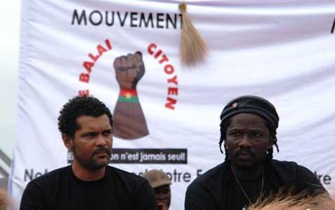 Modification de la constitution: Le Balai citoyen annonce deux meeting-concerts pour dire «Non au référendum»
