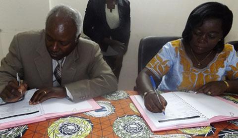 Violences faites aux femmes et aux filles: Signature de convention pour une lutte conséquente