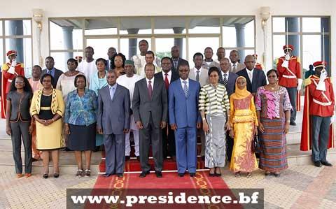 Le bilan des 20 ans des engagements nationaux fait à Blaise Compaoré