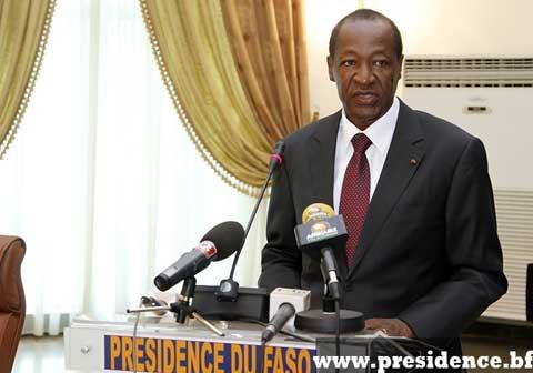 Discours de son excellence monsieur blaise Compaoré, Président du Faso a l'occasion de l'assemblée générale des projets des engagements nationaux