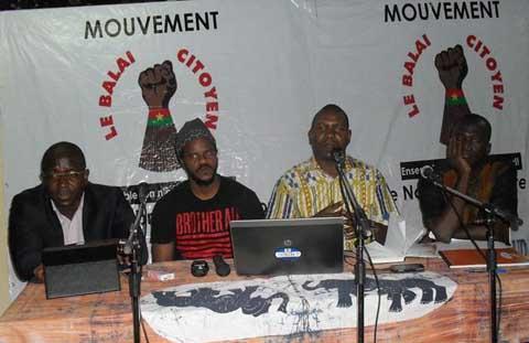 Débat sur le referendum: Le Balai Citoyen pour une résistance active