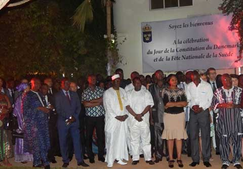 ''Date de naissance de Constitution'': Objet de célébration des Danois et Suédois réunis à Ouaga
