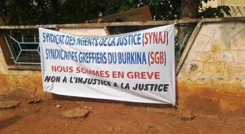Grève des greffiers: Quand l'injustice dort au palais de justice