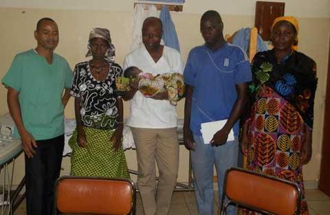 Clinique Lorentia de Bobo: Tien a sa miraculée