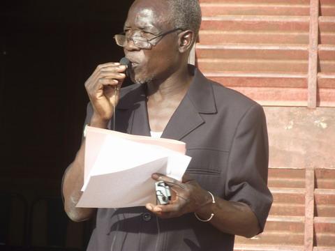 Situation nationale: André-Eugène ILBOUDO lance un appel au secours à des personnalités du monde.