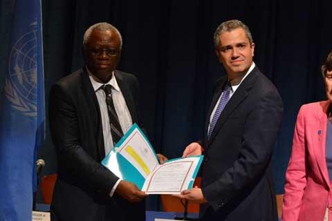 Traité sur le Commerce  des Armes: Le Burkina Faso dépose ses instruments de ratification