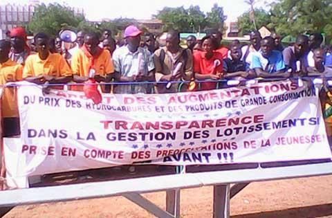 Société civile et la situation nationale: L'ODJ tient son premier meeting à Ouaga