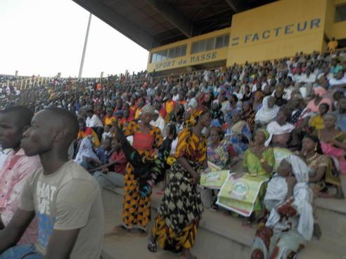 Meeting de l'opposition à Bobo-Dioulasso: Sangoulé Lamizana s'est révélé trop grand