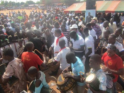 Bobo-Dioulasso: Les jeunes du CDP réclament la candidature de Blaise Compaoré