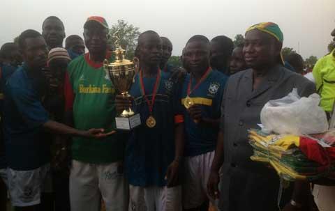 UPC/Koulpélogo: Quand le député Armand ABGAS rassemble les jeunes autour du sport
