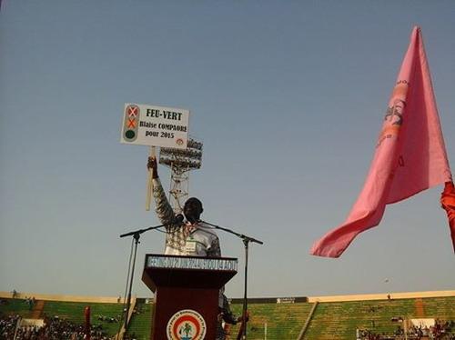 Meeting du CDP: un «feu vert» à Blaise Compaoré