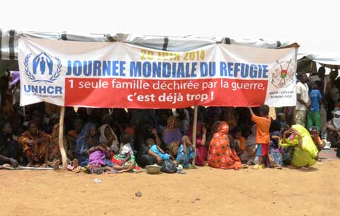 Journée Mondiale des Réfugiés:  Renforcer la coexistence pacifique entre Réfugiés et  autochtones au Burkina Faso.