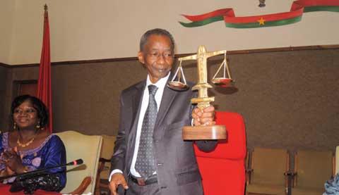 Magistrature: Hommage à monsieur BOLY Abdouramane