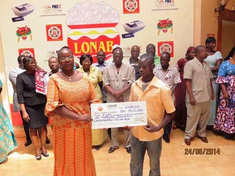 Tranche commune entente 2014: Dix millionnaires pour le Burkina