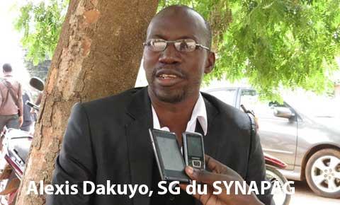Concours professionnel des  Administrateurs civils: Le SYNAPAG dénonce une lenteur dans la publication des résultats définitifs