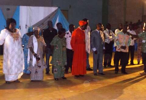 Ouaga: Grande soirée d'hommage au cardinal Philippe Ouédraogo