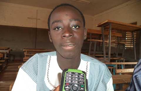 Lycée Jacques Toulat de Banfora: Ismaël Ouédraogo admis au B.E.P.C de la plus manière