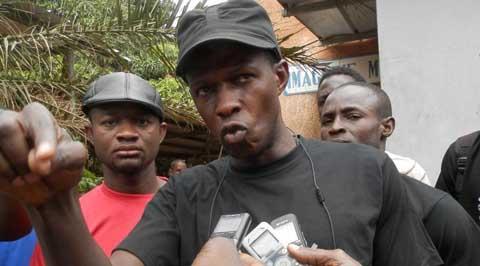 Kaba Diakité, coordonnateur du Balai Citoyen à Bobo à propos du bébé piétiné par les CRS: «On n'avait pas la bonne information»