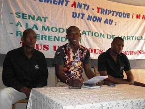 Politique nationale: Le Mouvement Anti-triptyque dans l'arène pour sonner «la fin des assassinats du régime Compaoré»