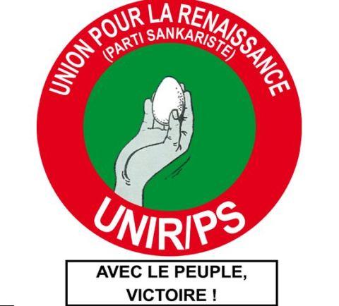 Message de condoléances de l'Union pour la Renaissance/Parti Sankariste (unir/ps) suite au décès de son excellence Gerard Kango Ouedraogo, Président d'honneur a vie du RDA