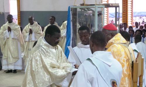 Religion: 20 nouveaux prêtres pour l'archidiocèse de Ouagadougou