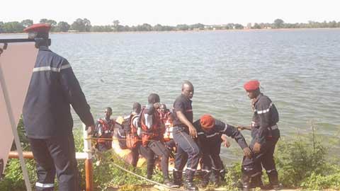 Protection civile en ces temps pluvieux: Les Sapeurs-pompiers en exercice de simulation pour parer aux éventualités