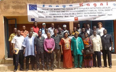 Eau et assainissement en milieu rural: L'ONG Eau Vive lance le projet «SANYA KAGNI»