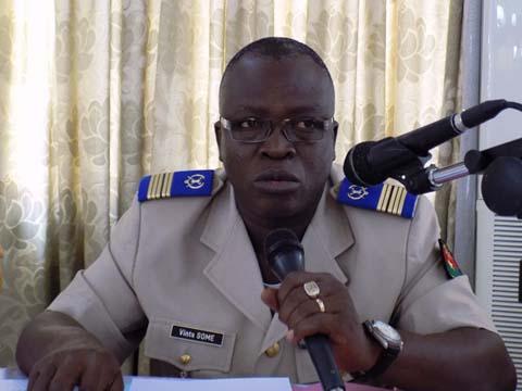 «Il n'y a pas d'autres voies d'entrée au PMK que la voie du concours» Colonel Vinta Somé, Commandant du Prytanée Militaire du Kadiogo