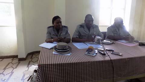 Saison d'hivernage: la police nationale sensibilise sur les précautions sécuritaires