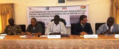 Projet de gestion durable de la pêche au Burkina: L'heure est au bilan