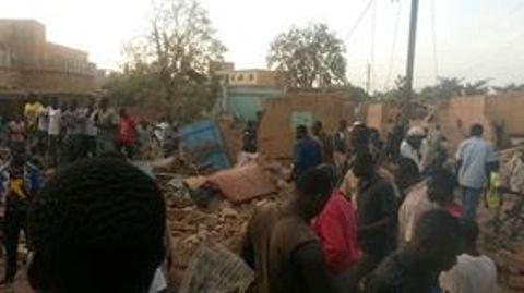 Ouaga: Explosion dans le quartier Larlé