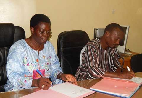 WaterAid et REPHA-BF, unis pour plus d'eau potable et d'assainissement au Burkina