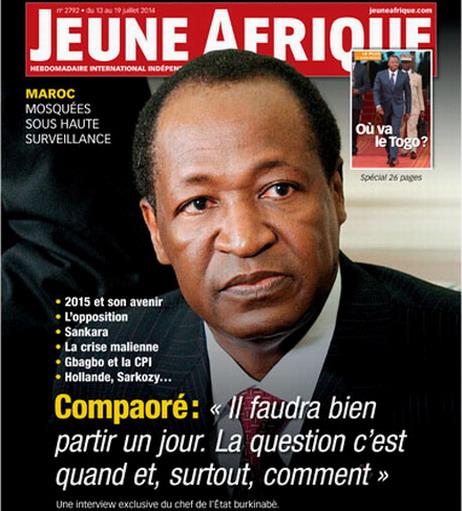 Compaoré dresse le portrait de Blaise en homme «sûr de lui» mais pas «dominateur».