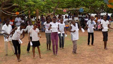 Colonie intégrée de vacances APEE 2014: Une clôture en beauté à Boussé