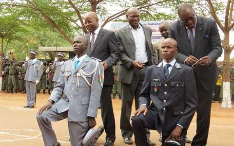 Sécurité au Burkina: 1 126 nouvelles compétences au service de la nation