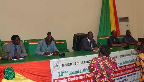 CARFO: Militaires et paramilitaires s'imprègnent du régime de la protection sociale