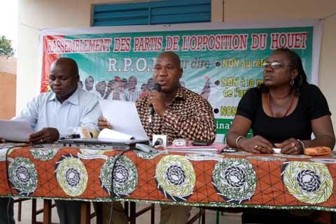 Confiscation de cartes d'électeur à Bobo: Le RPOH accuse le parti majoritaire