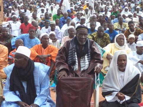 RAMADAN: Les musulmans de Banfora ont prié pour la paix au Burkina