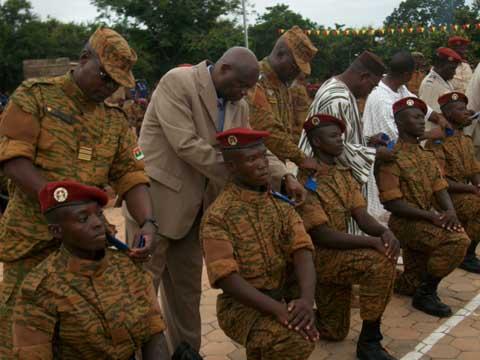 Armée burkinabè: Le contingent 2013 prêt à servir