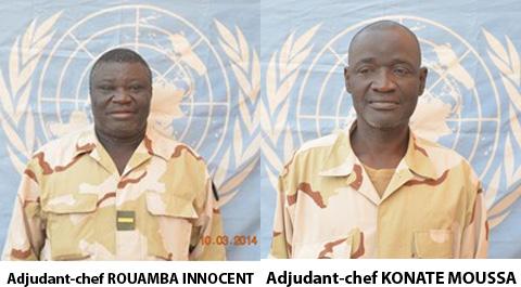 Contingent militaire attaqué au Mali: l'identité des soldats burkinabè tués