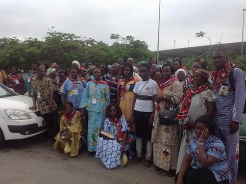Célébration de l'Assomption en Côte d'Ivoire par les pèlerins burkinabè