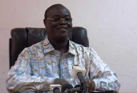 Le Ministre Léné Sebgo et la prévention d'Ebola au Burkina