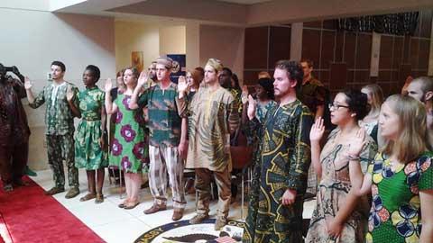 Corps de la Paix américain au Burkina: de nouveaux «diplomates»  «accrédités» dans l'Education