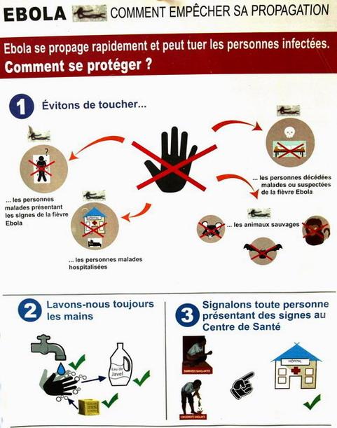 Virus Ebola: Des cas de prélèvements négatifs au Burkina