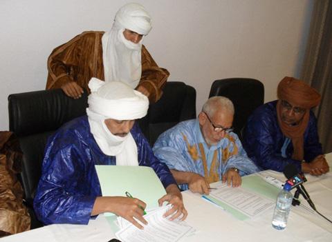 Préparatifs de la reprise des négociations inter-maliennes à Alger: Les mouvements politico-militaires de l'Azawad arrachent un accord à Ouaga